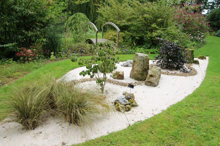 Jardin mineral for Art jardin creation